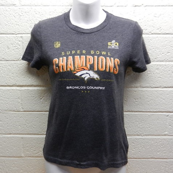 c9ddb03a9a3 NFL Shirts & Tops | Girls Denver Broncos Super Bowl Champions Shirt ...